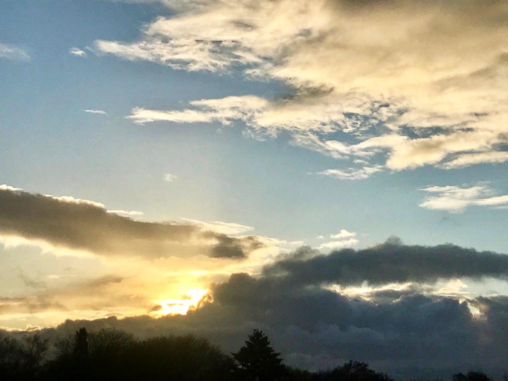 Morning sunrise photo